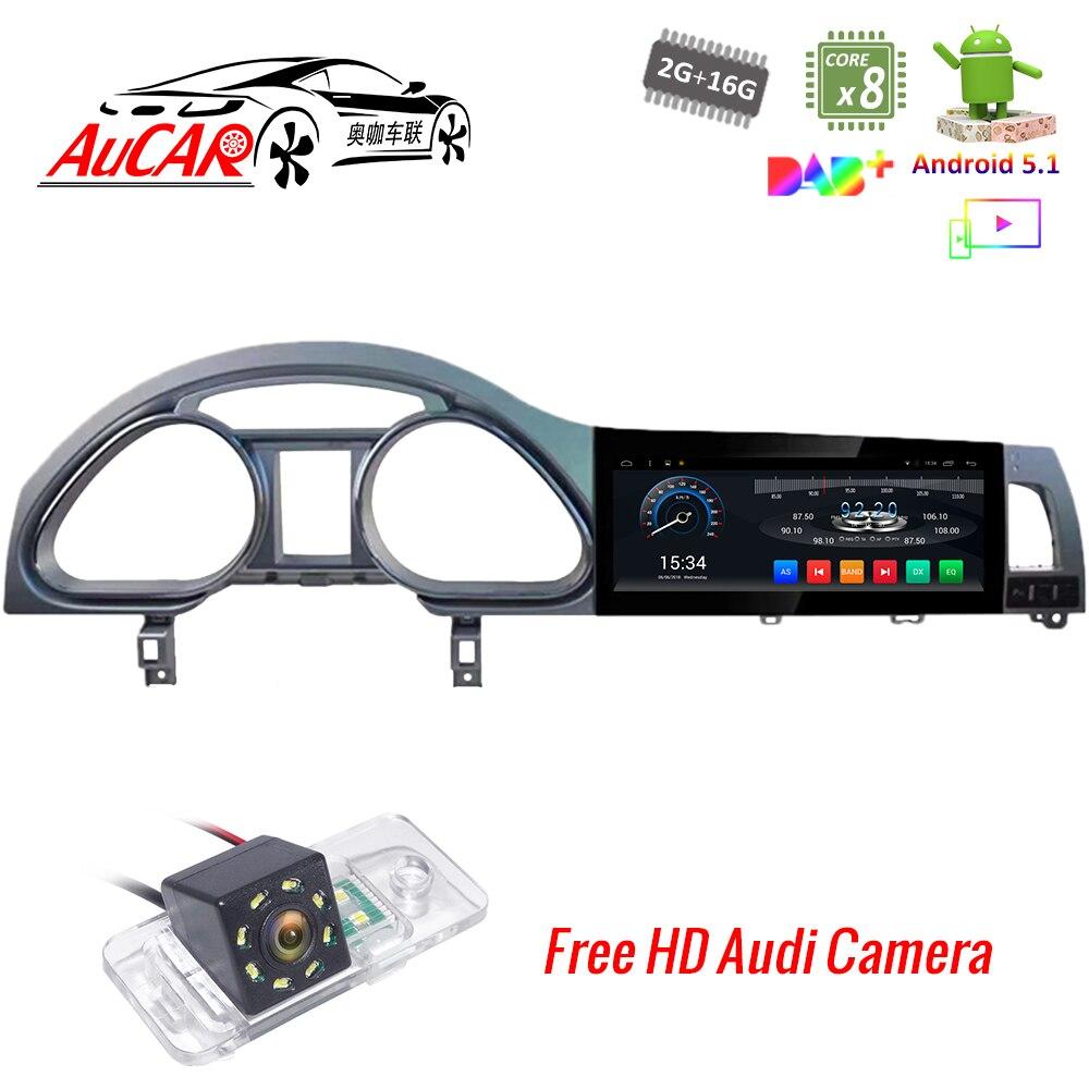 Android 5,1 de 10,25 multimedia para coche Audi Q7 reproductor de DVD del coche Android 2007-2015 Octa core Bluetooth GPS radio WIFI 4G ESTÉREO