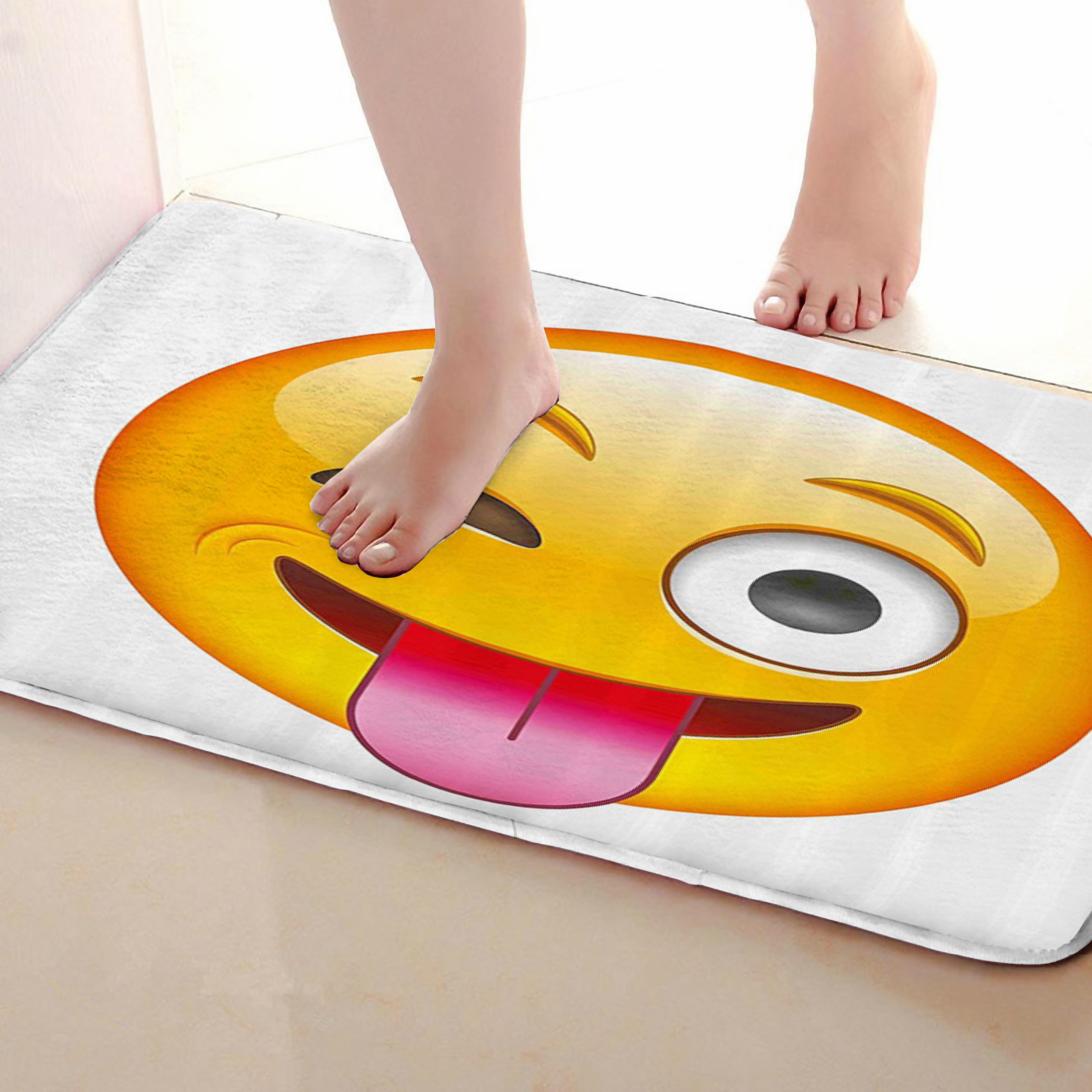 Naughty Style Bathroom Mat,Funny Anti Skid Bath Mat,Shower Curtains Accessories,Matching Your Shower Curtain
