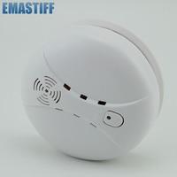 High Sensitivity Wireless Photoelectric Smoke Detector High Sensitive Stable Fire Alarm Sensor Monitor For Home Security
