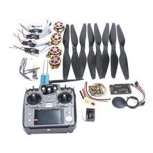F05422 K Foldable Rack RC Quadcopter Kit APM2 8 Flight Control Board GPS 750KV Motor 14x5