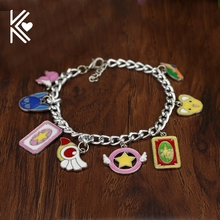 Cosplay Jewelry Drop Shipping The Japanese Anime Cardcaptor Sakura Charm Bracelet Wholesale Retail Hot Sale