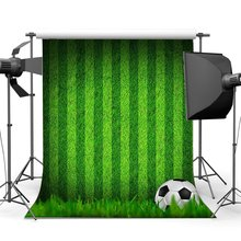 Football Backdrop Indoor Stadium Green Grass Meadow Stripes Wallpaper Sports Match School Game Gymnasium Background