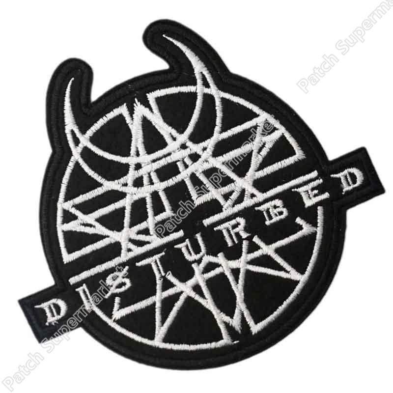 Disturbed logo font do...