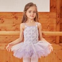 Cute Girls Ballet Dress Tutu Children Girls Dance Clothing Kids Ballet Dress Costumes Girls Dancer Performance Tutu Dance Wear