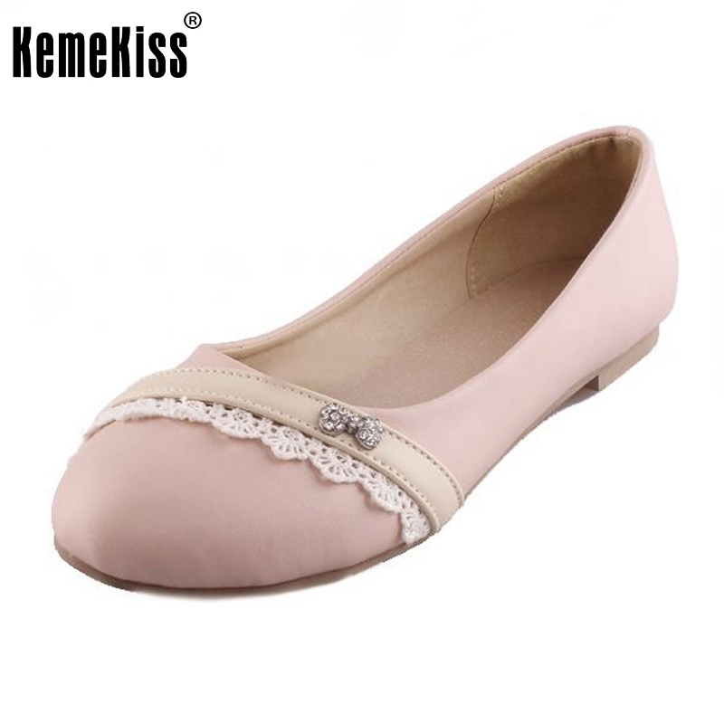 Ladies Shoes Ballet Flats Point Toe Women Flat Shoes Woman  Casual Shoe Sapato Womens Footwear Zapatos Mujer Size 32-43 drfargo spring summer ladies shoes ballet flats women flat shoes woman ballerinas pointed toe sapato womens waved edge loafer