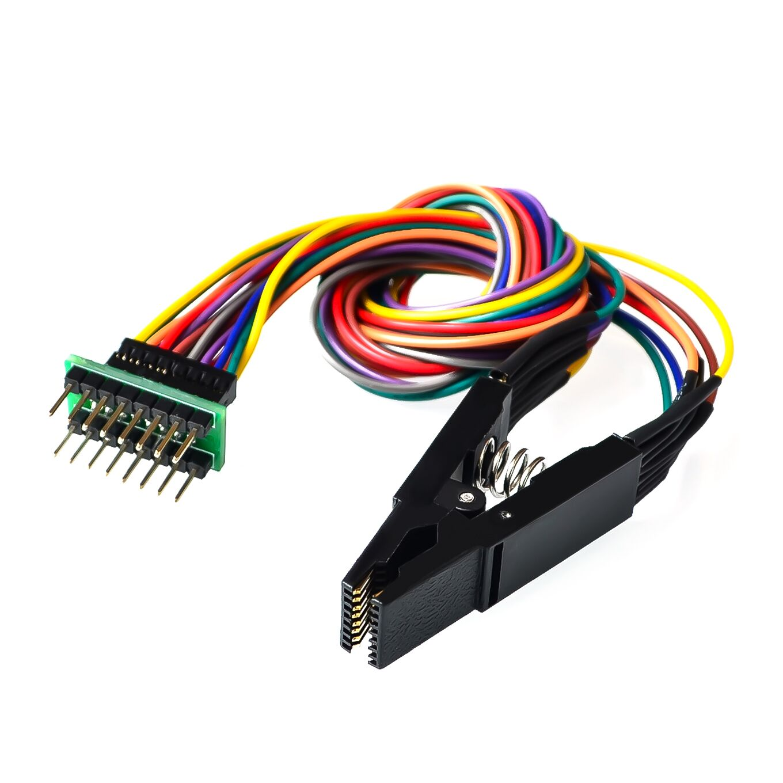 1PCS Programmer Testing Clip SOP SOIC 8 SOIC8 DIP8 DIP 8 SOP8 Pin IC Test Clamp