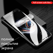 8D Full Cover Hydrogel Film For Xiaomi 9 8 Lite Mix 3 Max PocoPhone F1 Screen Protector Redmi Note 7 6 5 Pro