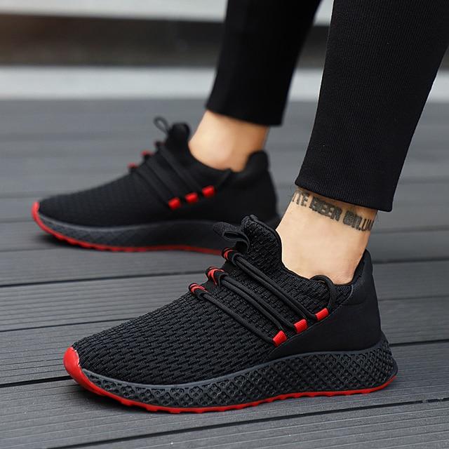 2018 New 숨 편안한 Casual Shoes 대 한 남성 Fashion Men Lace-업 (High) 저 (Quality 착용-저항하는 Men Sneakers footwears
