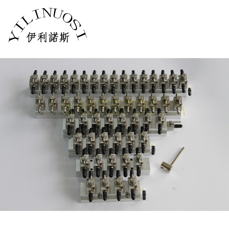 Stainless steel 3-way valves system Cleaning device 8Bit printer spare parts plastic 3 way valves system cleaning device cleaning valves 12bit printer spare parts
