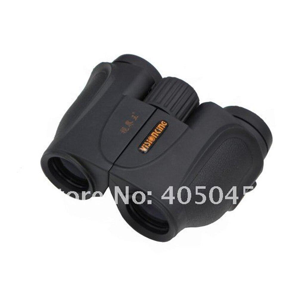 Visionking 8X26 Mini BAK4 Prism Porro Binoculars Outdoor Camping/Hunting Waterproof Binoculars Telescopes Binoculo Profissional  цены