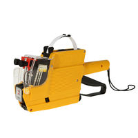 New Evironmental Protection MX 6600 10 Digits 2 Lines Price Tag Gun Labeler Yellow