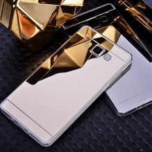 Casos de telefone para samsung j1 j120 j3 pro j5 j7 2016 a3 a5 a7 s3 S4 S5 S6 S7 Borda Mais Nota 4 5 7 Miror TPU Macio Telefone Covers Coque