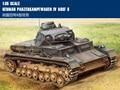 Trompetista modelo 80131 1/35 tanque alemão PANZERKAMPFWAGEN IV Ausf B modelo de montagem kits escala veículo tanque scale model kit