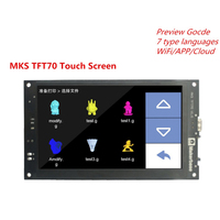 Новый 3d Принтер часть дисплея МКС TFT70 V1.0 сенсорный экран ЖК дисплей панель 7 дюймов STM32 7 TFT контроллер полный цвет 7,0 дюйм(ов) красочные