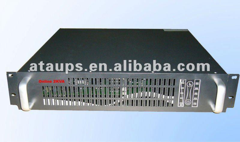 Power backup system online UPS 2KVA /1600W Rack mounted Santak