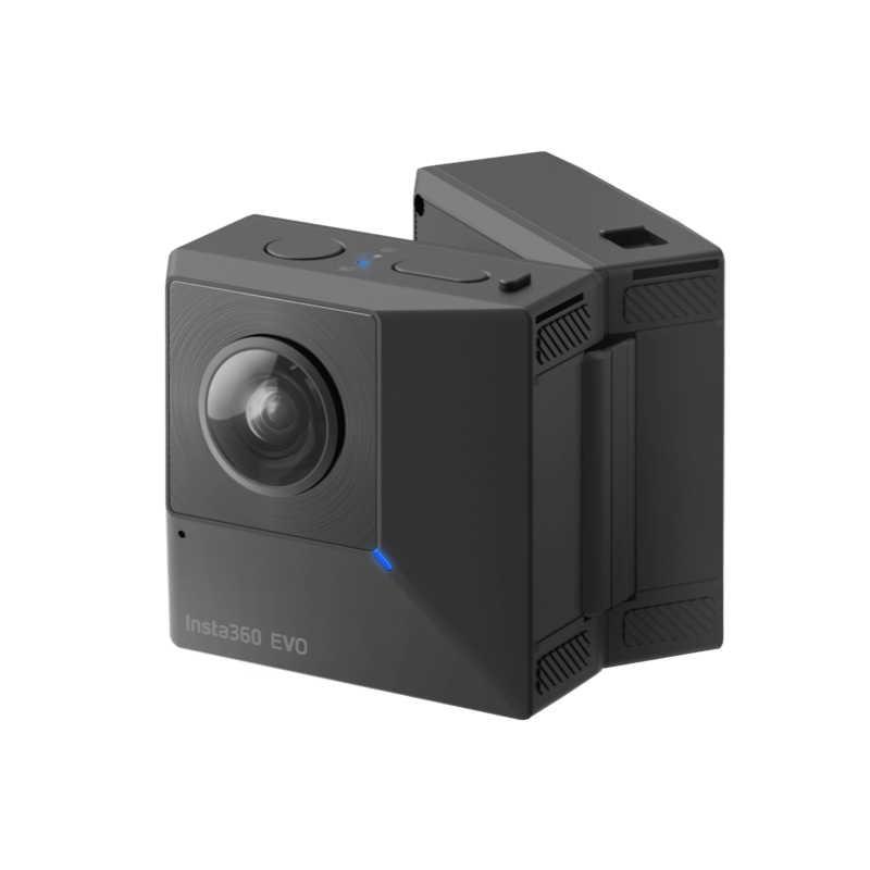 Insta360 EVO 360 видеокамера для панорамной 3D Камера 5,7 K экшн-камера для устройств на базе Android и iPhone XS/Xs Max/XR/iPhone X/8/8 plus/7/7 plus/6s плюс
