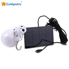 Heißer 15w Solar Powered Tragbare Led-lampe Lampe Solar Energie lampe led beleuchtung solar panel licht Outdoor Solar Zelt camping Licht(China)