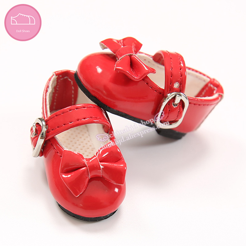 Shoes For BJD Doll 1/6 Leather Fashion Mini Toy Shoes For IP BJD Dolls WX6-32 Length 4.7cm Width 2.1cm Doll Accessories OUENEIFS