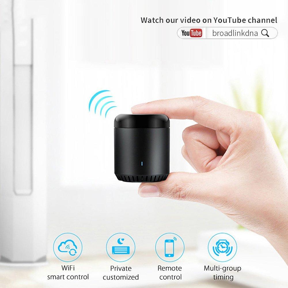 home universelle wlan 3 remote controller schwarze ir broadlink rm mini