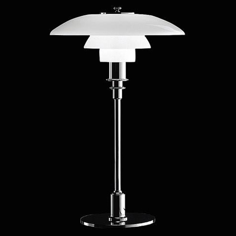 цена на louis poulsen ph 3/2 glass table lamp white lamp led table lamp