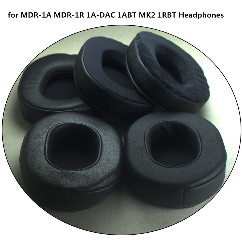 Sheepskin Ear Pads Replacement Memory Foam Earpads For Sony MDR-1A MDR-1R 1A-DAC 1ABT MK2 1RBT Headphones High Quality 5.29