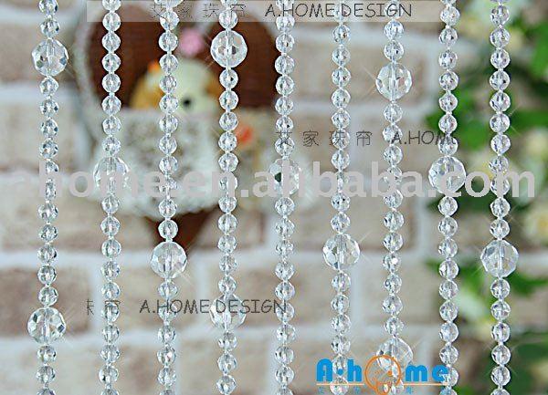 cg032 cristal curtain crystal handmade bijoux en perles rideau rideau chaine partition paravent