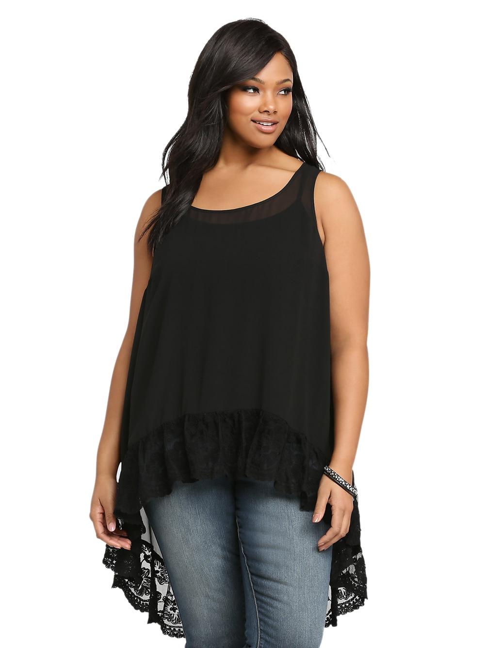 Popular Black Sheer Blouses-Buy Cheap Black Sheer Blouses lots ...