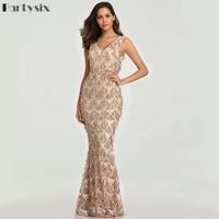 Вечерние платья six 2019, сексуальные платья с v образным вырезом и кисточками, женские элегантные длинные вечерние облегающие платья