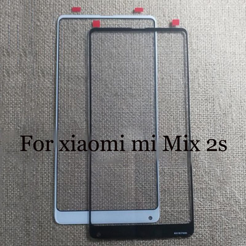 A+Quality For Xiaomi Mi Mix 2s TouchScreen Digitizer For Xiaomi Mi Mix2s Touch Screen Glass Panel Without Flex Cable For Mix 2 S
