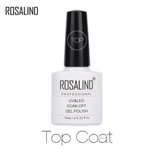 Rosalind Primer Gelpolish 10 ml Top Basis Mantel Gel Lack Top es + Basis Mantel Foundation für UV Gel nagellack(China)
