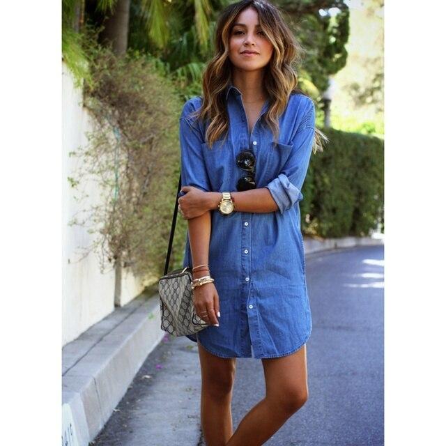 Denim shirt dress size 20 – Dress blog Edin