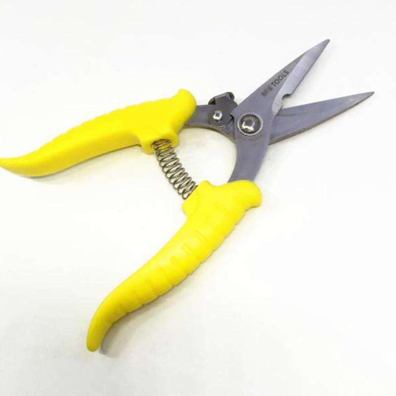 Seven Inch Monochrome Multi Function Electrician Shears Wire Trough Scissors Wire Scissors Iron