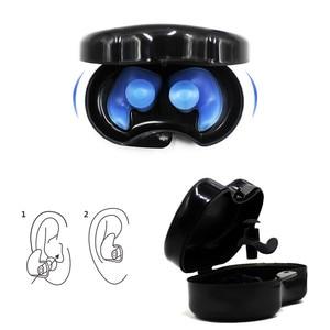 Image 3 - 1ペアソフトシリコン耳栓耳保護再利用可能なプロの音楽耳栓ノイズリダクション睡眠のため
