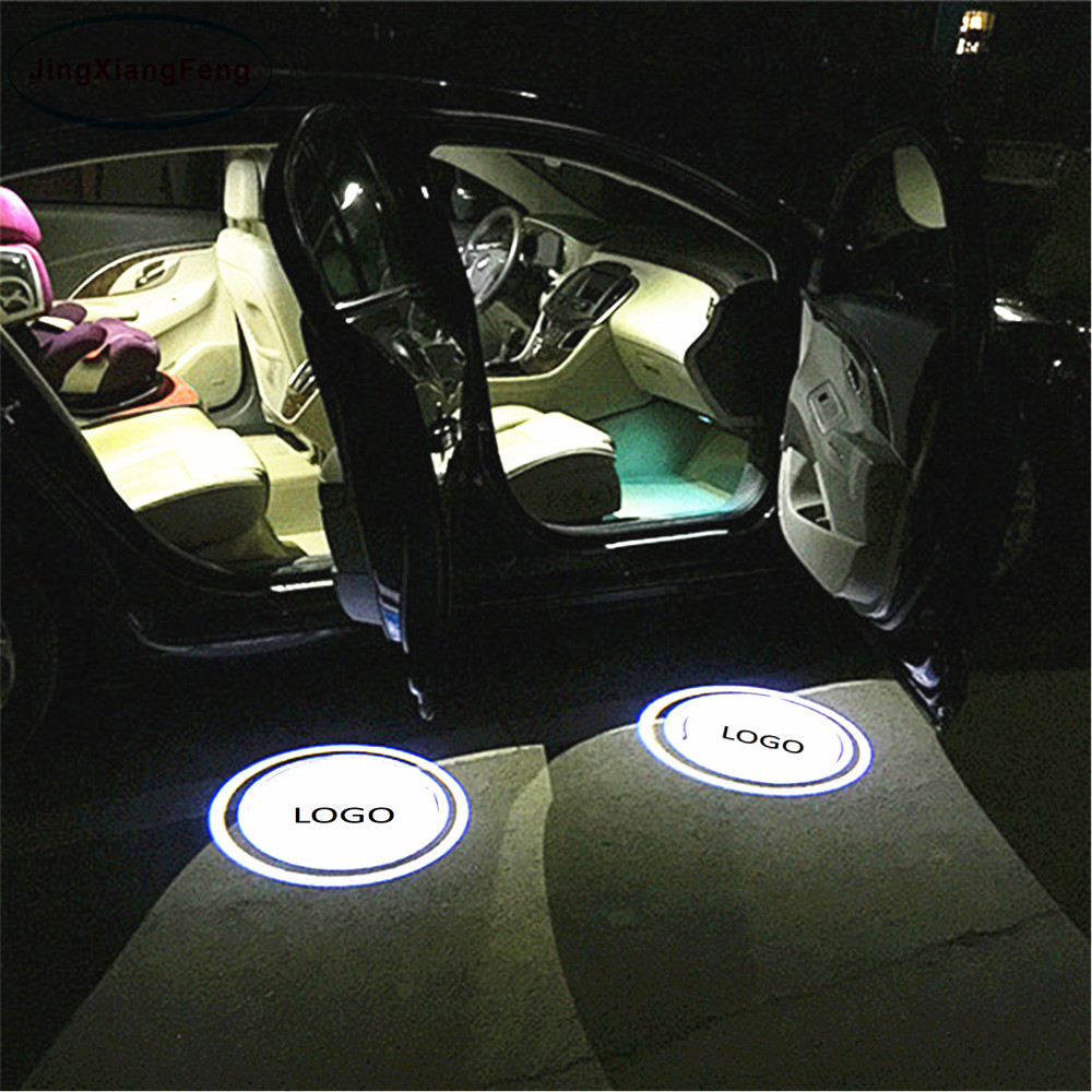 Toyota Bearfire 2 Pcs Wireless Car Door Led Welcome Laser Projector Logo Light Ghost Shadow Light Lamp Logos