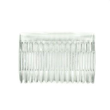 7x5cm 15 Teeth Fancy DIY Plastic Hair  Comb Women Bridal Wedding Veil Holder Transparent Beauty Styling Tool Bridal Headwear