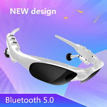 Updated UV400 Terpolarisasi Nirkabel Bluetooth Headphone V5.0 Stereo  Kacamata Olahraga Musik Mengemudi Berjemur Berkuda 6624123033