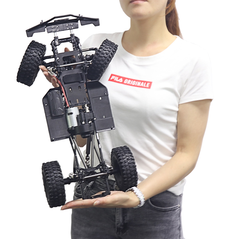 313mm 12 3 Wheelbase Assembled Frame Chassis Complete Kit for 1 10 RC Crawler Car SCX10