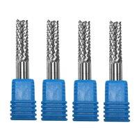 10mm 42 52 milímetros de Carboneto de Tungstênio Cortador de Milho pedaços de moagem PCB fim moinho cortador CNC router bits de corte para a máquina de Gravura|Fresa| |  -