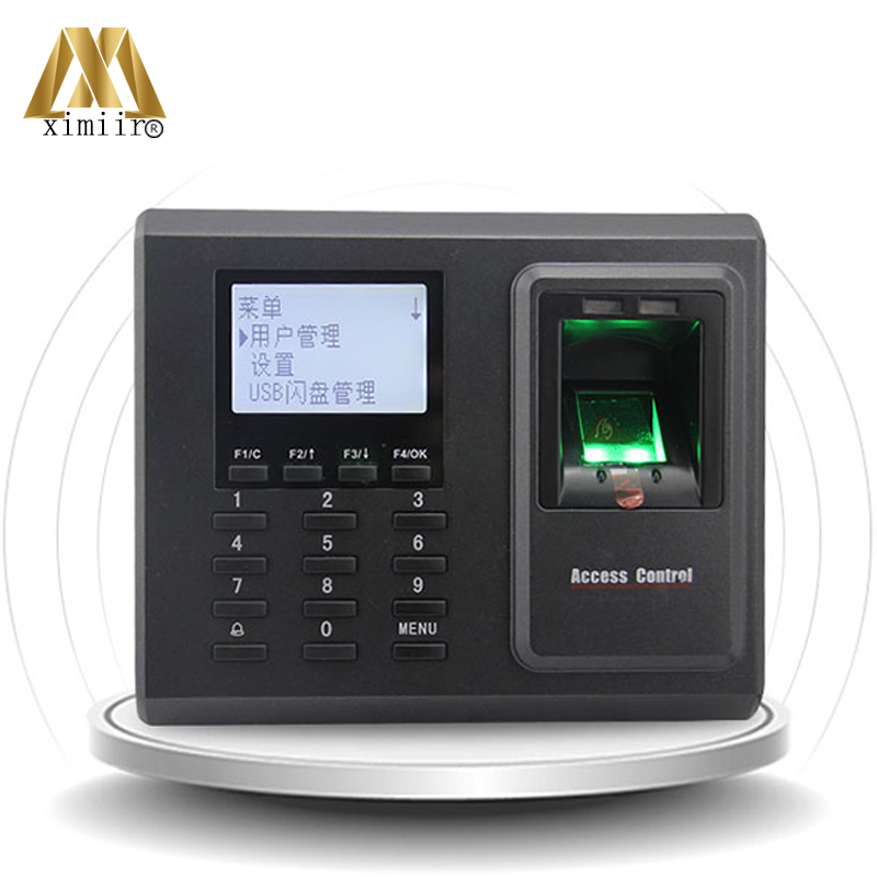 ZK F2 TCP/IP USB Biometric Fingerprint Access Control System Door Access Control With Time Attendance Fingerprint Reader tcp ip biometric fingerprint access control tft color screen fingerprint time attendance and access control with id card reader