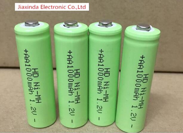 NEW battery NI MH AA 1000mah 1.2V AA1000mAh 1.2V nimh NO.5