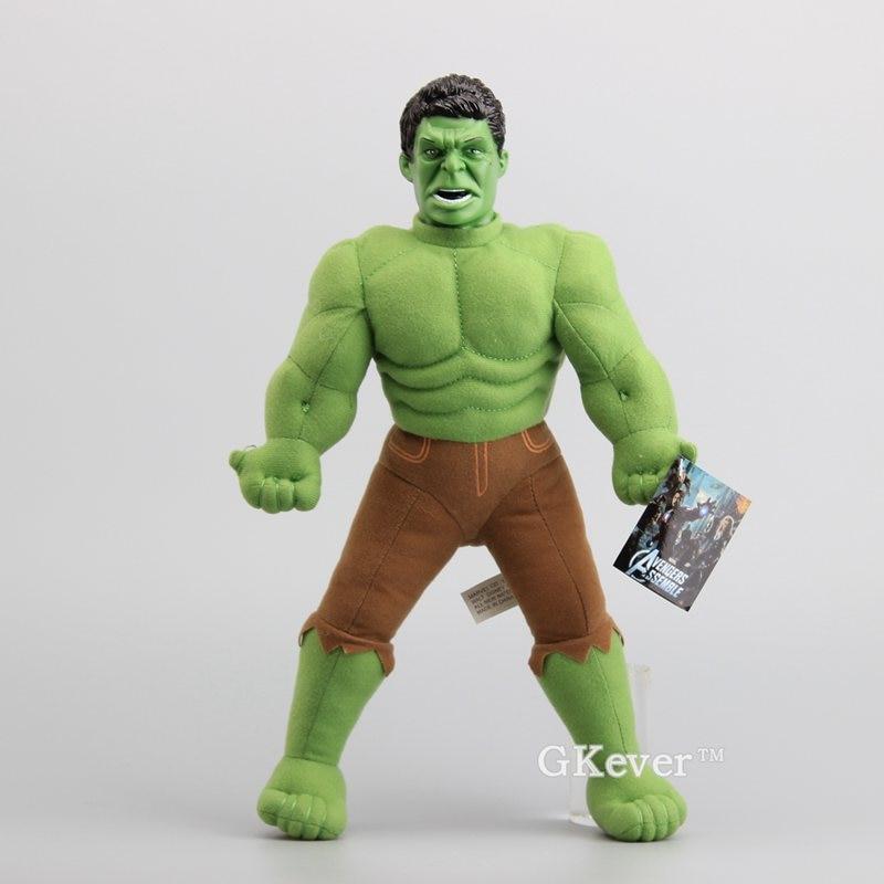 The Avengers Superhero Hulk Plush Dolls Stuffed Soft Toys Children Gift 18