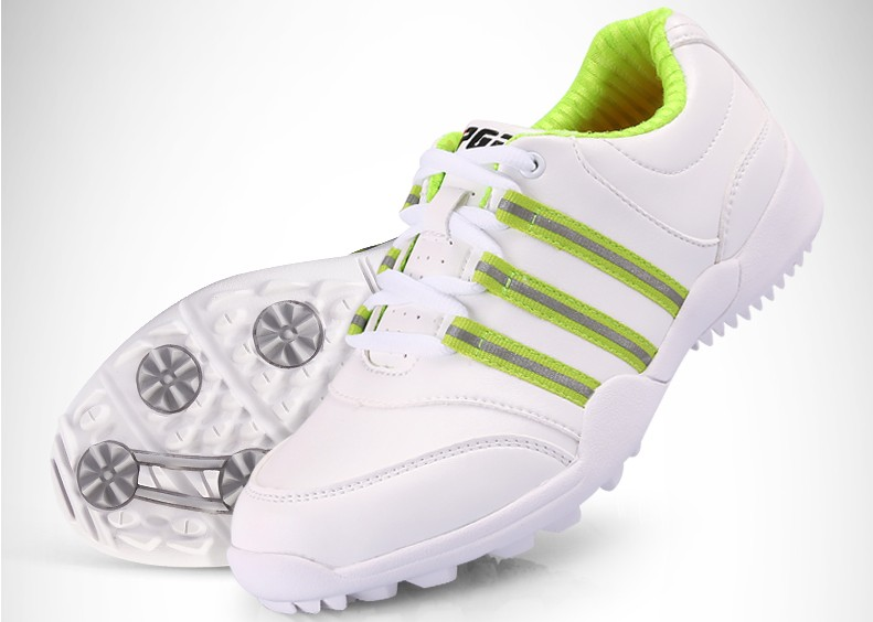 High quality! PGM boy girl children's golf shoes 3D breathable slot patented sports shoes,Free shipping 2016 new womens golf tshirts branded high quality dobby long sleeve breathable s 2xl 4 colors golf sport clothing free shipping