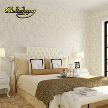 цена на papel de parede. Non-woven metallic wallpaper modern background wall wallpaper damask classic wall paper for living room bedroom