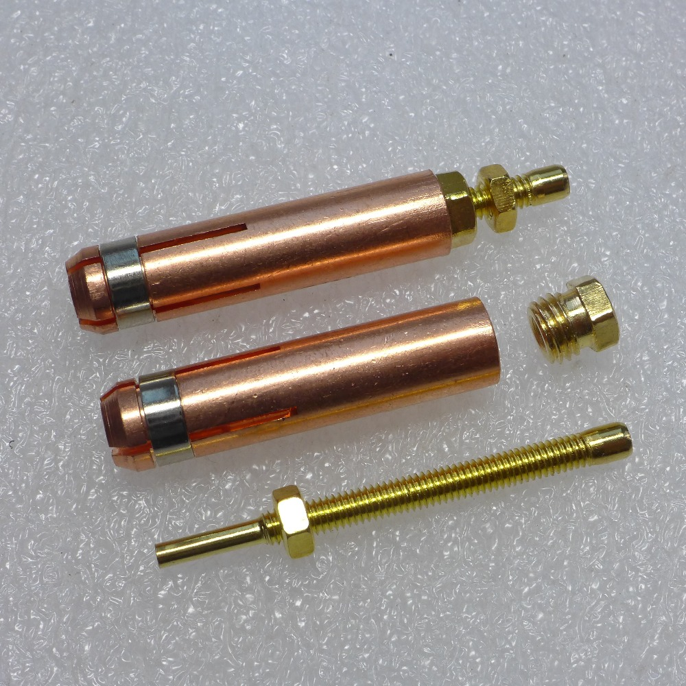 Collet 2 Pcs For Capacitor Discharge CD Stud Welding Gun Welding Torch For Stud Welding