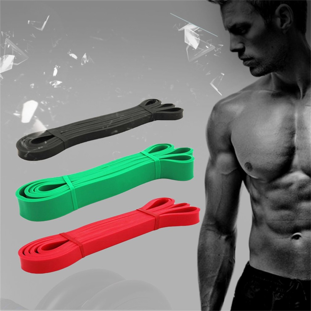 1pc New Body Building Resistance Band For Exercise Weight Lifting Workout In Stock New HOT