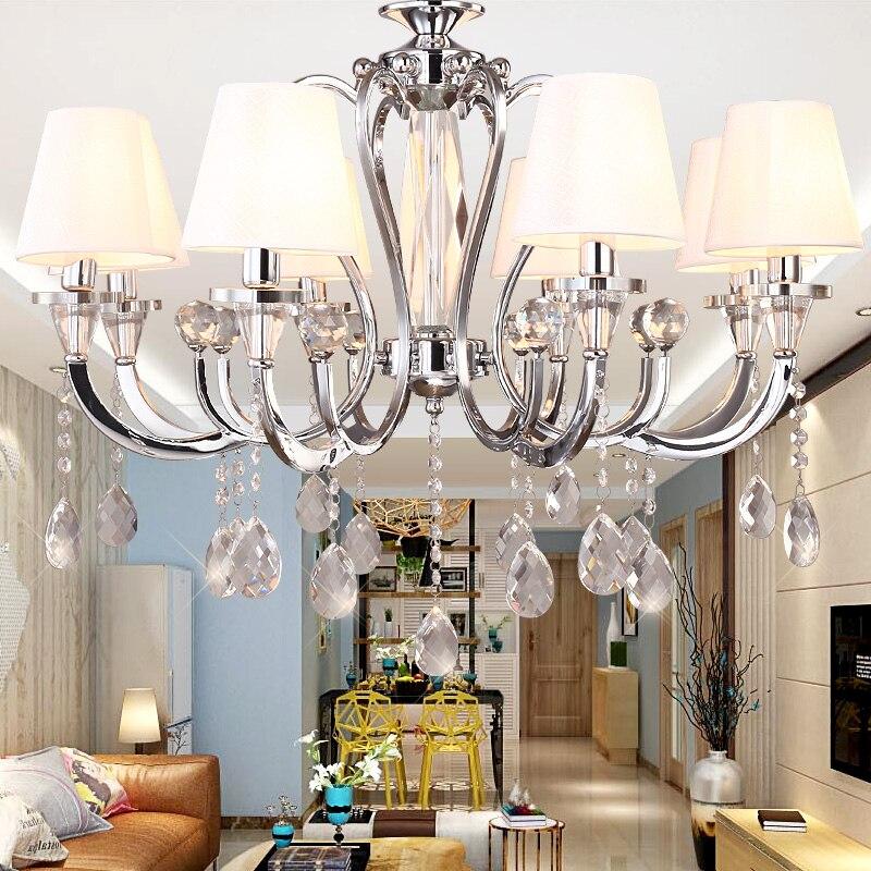 Ombreggiato lampadario di cristallo recensioni   acquisti online ...