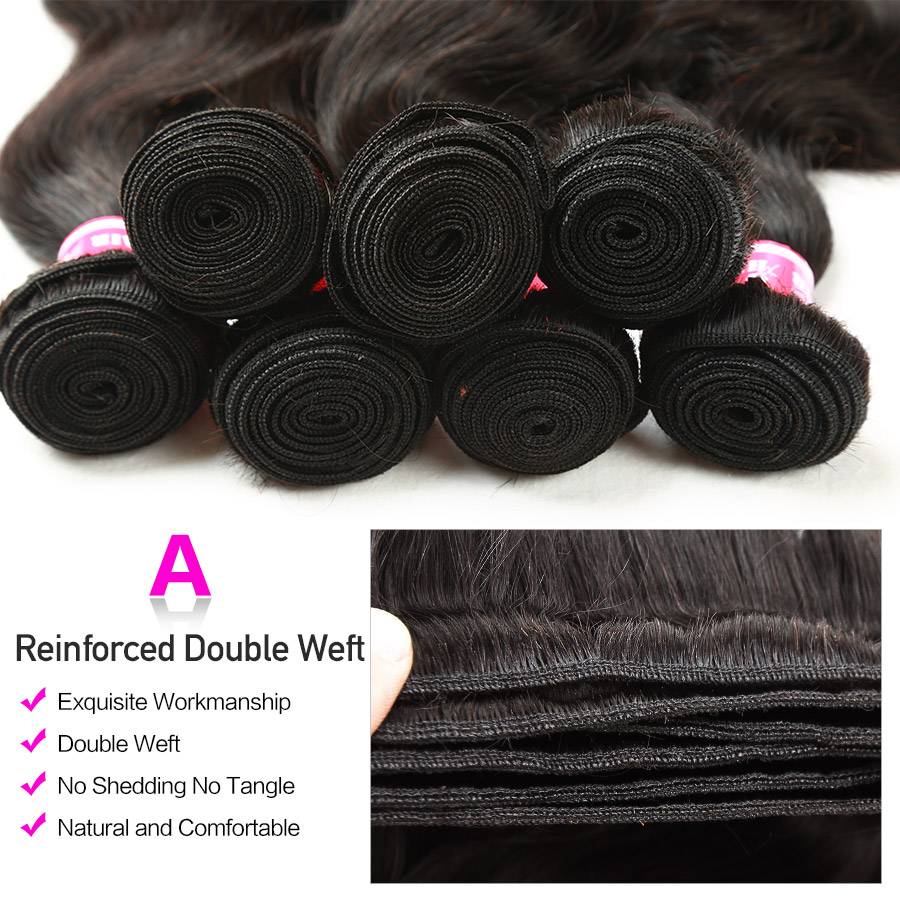 HTB11RvOXsnrK1RjSspkq6yuvXXaU Hermosa Human Hair 3 Bundles With Frontal Closure Brazilian Body Wave 13x4 Lace Frontal With Bundles Middle Ratio Non-Remy Hair