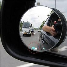 Автомобильные зеркала заднего вида универсальные зеркала заднего вида с широким углом обзора круглые выпуклые зеркала мертвой зоны заднего вида для безопасности