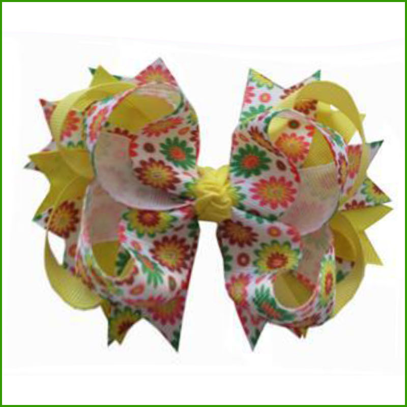 "20 Good Girl Baby 3.5/"" Butterfly Fairy Wing Hair Bow Clip Grosgrain Ribbon"