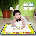 50x34cm Baby Kids Water Drawing Painting Writing Mat Board with Magic Pen Doodle Gift Christmas